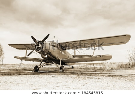 Old  airplane Stock photo © liolle