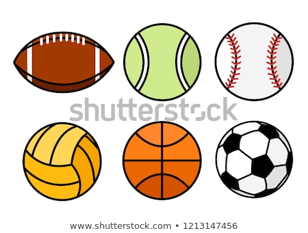 ballon · football · basket · vecteur · football - photo stock © netkov1