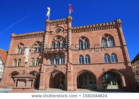 ратуша Германия город зале города квадратный Сток-фото © LianeM