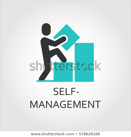 self management concept vector illustration stock photo © rastudio