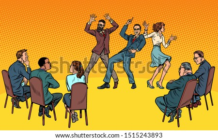 Dançar competição dança pessoas júri Foto stock © studiostoks