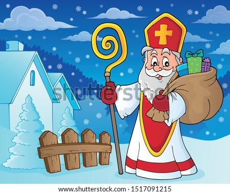 saint nicholas topic image 8 stock photo © clairev