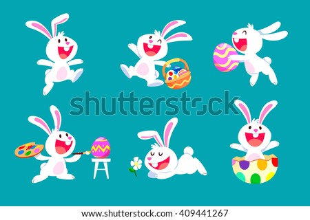 Cartoon courir œuf de Pâques illustration oeuf Photo stock © bennerdesign