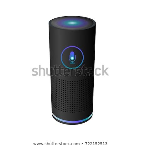 Inteligentes orador usuario voz ayudante digital Foto stock © RAStudio