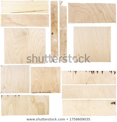 Collection of images with various pieces of birch plywood Stock photo © Taigi