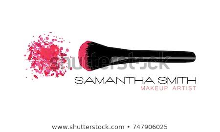 Roze oog schaduw geïsoleerd witte Stockfoto © goir