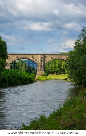 Viaduct over Neisse Stock photo © oxygen64