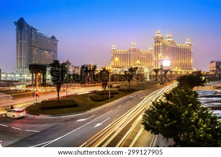 Huge bridge in macau Stock photo © cozyta