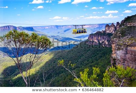 azul · montanhas · Austrália · Sydney · profundo - foto stock © THP