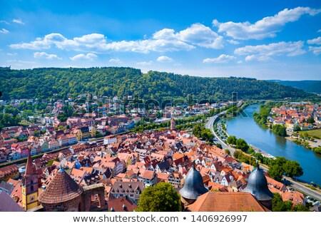 Principale ville sud Allemagne Photo stock © prill