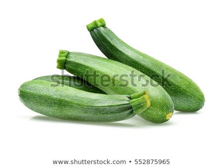 Courgette isolé blanche alimentaire fruits ferme Photo stock © ozaiachin
