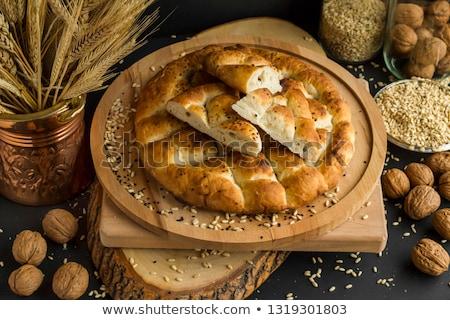 Turco cobre prato queijo terreno carne Foto stock © ozgur