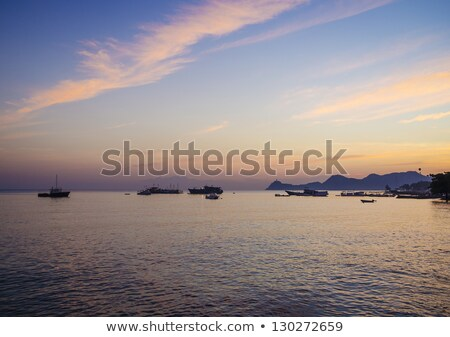 sunset in central dili beach east timor Stock photo © travelphotography
