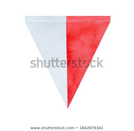 Banderą Malta strony kolor kraju stylu Zdjęcia stock © claudiodivizia