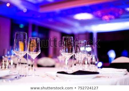 gala · receptie · klaar · tabel · voedsel · drinken - stockfoto © taden