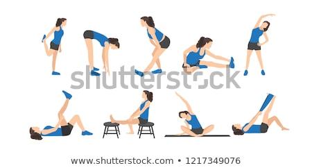 stretching legs stock photo © grafvision