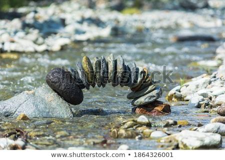 balancing stones stock photo © neirfy