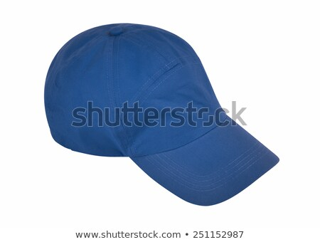 Baseball cap isolated on white background w/ clipping path stock photo © kravcs