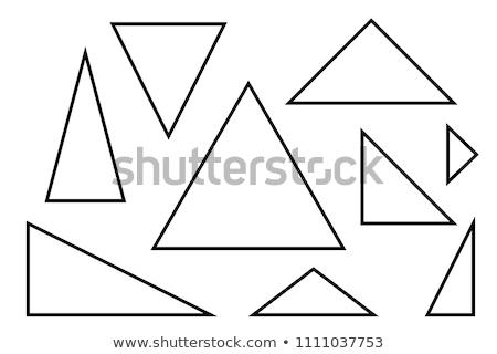 треугольник стороны пер студент Дать науки Сток-фото © fantazista