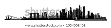 Singapore silhouette Stock photo © joyr