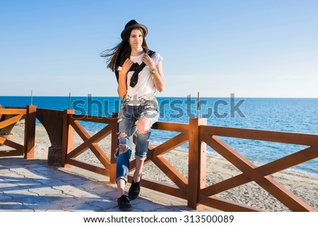 seducción · arena · blanca · Foto - foto stock © lightpoet