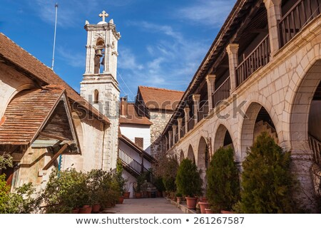 Chrysorrogiatissa Monastery. Cyprus, Paphos district Stock photo © Kirill_M