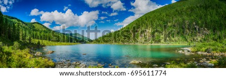 landscape mountain river stock photo © oleksandro