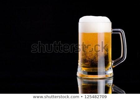 Stout beer mug Stock photo © pakete
