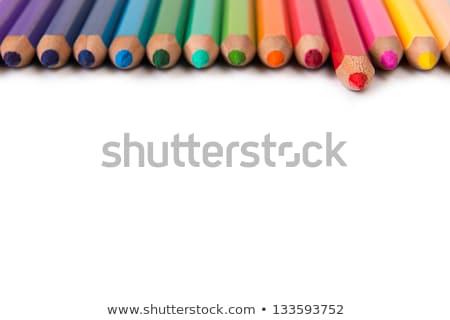sanat · okula · geri · okul · dizayn · kalem · uzay - stok fotoğraf © Konstanttin