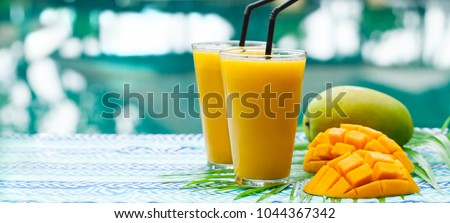 Vers mango sap geheel vruchten Stockfoto © Lana_M