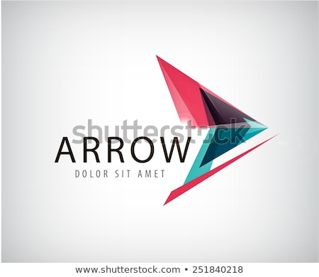 Abstrakten arrow Form Design Business Stock foto © SArts
