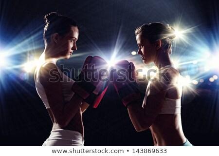 Due femminile saluto altro anello Foto d'archivio © wavebreak_media