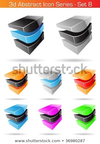 internet · pictogrammen · metaal · stijl · illustratie · formaat · eps - stockfoto © cidepix