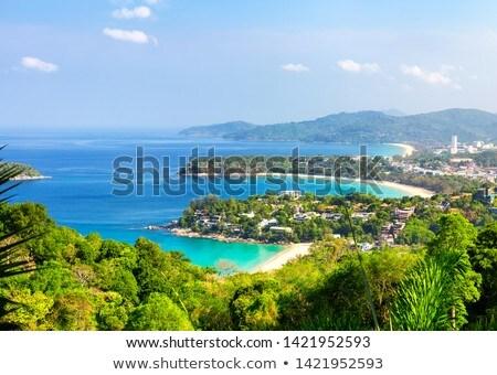 Punt phuket panorama Thailand zomer Stockfoto © bloodua