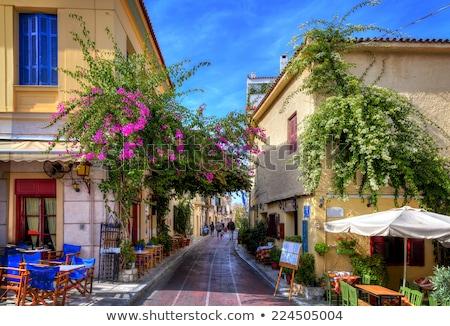 Atenas Grecia antigua clásico cielo Foto stock © neirfy