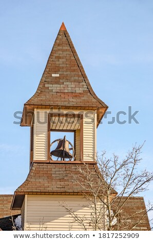 Vertical Copper Steeple Stock photo © bobkeenan