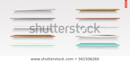 different shelves set stock photo © barbaliss