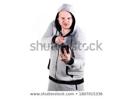 casual · equipo · de · negocios · argumento · oficina · mujer · hombre - foto stock © photography33