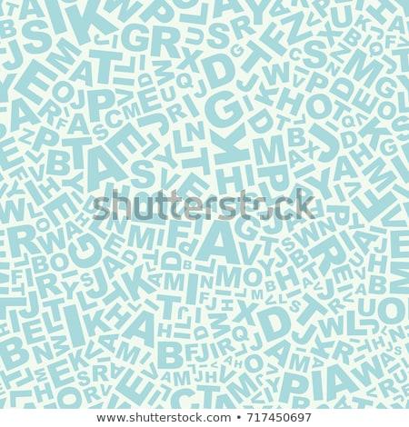 Alfabet tle ziarnisty typografii brązowy Zdjęcia stock © Stocksnapper