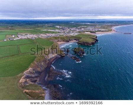 Stock photo: ballybunion town view and beach