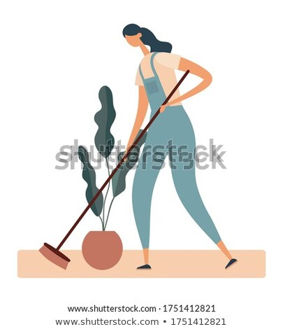 Stock photo: Female manual worker