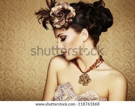 foto · mooi · meisje · mode · stijl · glamour · meisje - stockfoto © pandorabox