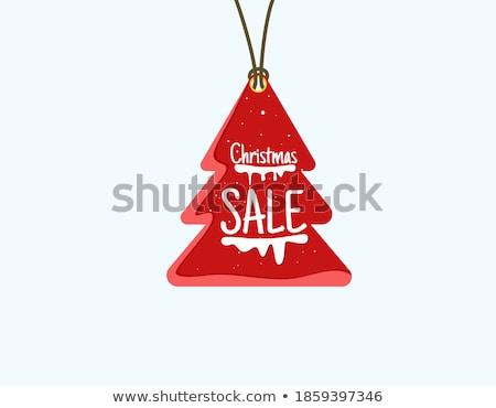 dinero · árbol · de · navidad · aislado · blanco · negocios - foto stock © marinini