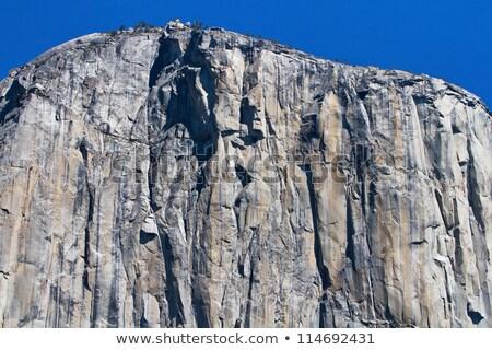Rocha penhasco parede íngreme parque Utah Foto stock © iofoto