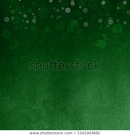 Dark Green Snowflakes Stock photo © hlehnerer