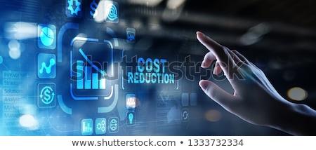 Cut costs  Stock photo © fuzzbones0