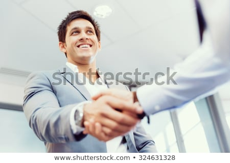 Group of businesspeople shaking hands with each other stock photo © wavebreak_media