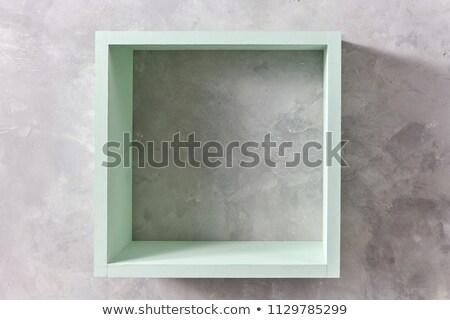 Cuadrados plataforma gris moderna plástico Foto stock © romvo