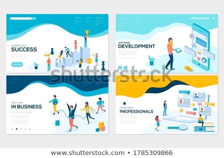 Business Development Manager Job Vacancy. 3D. Stock photo © tashatuvango