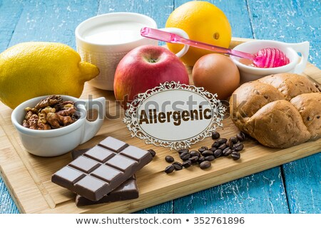 Allergy to Eggs, Natural Products Causing Illness Stock photo © robuart